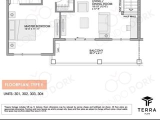 Fernbank Crossing Terra Flats - floor plan 2