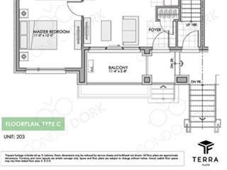 Fernbank Crossing Terra Flats - floor plan 3