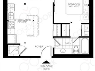 The Rideau at Lansdowne - floor plan 5