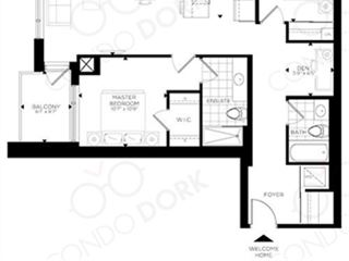 The Rideau at Lansdowne - floor plan 4