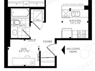 The Rideau at Lansdowne - floor plan 3
