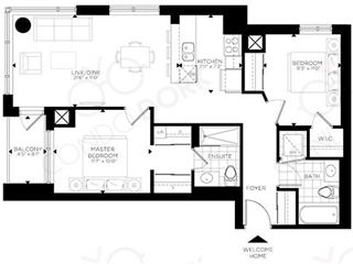 The Rideau at Lansdowne - floor plan 2