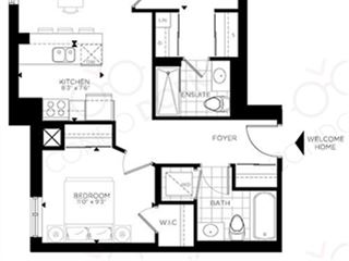 The Rideau at Lansdowne - floor plan 1