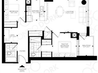 The Rideau at Lansdowne - floor plan 0
