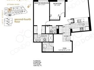 LeBreton Flats Phase 1 - floor plan 3