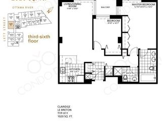 LeBreton Flats Phase 1 - floor plan 1
